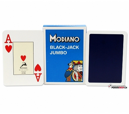 Modiano Black Jack Jumbo Blau