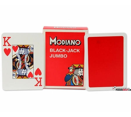 Modiano Black Jack Jumbo Rot