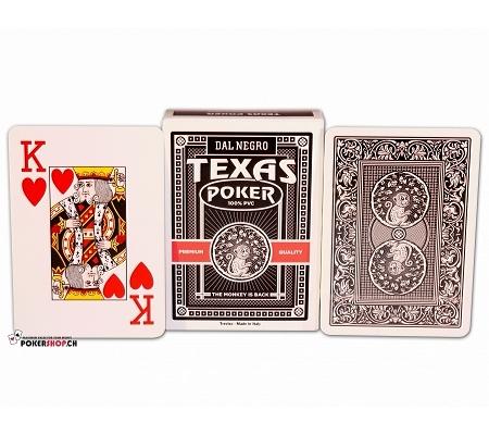 Dal Negro Texas Poker Monkey Schwarz