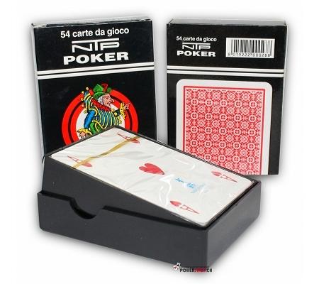 NTP Pokerkarten Rot