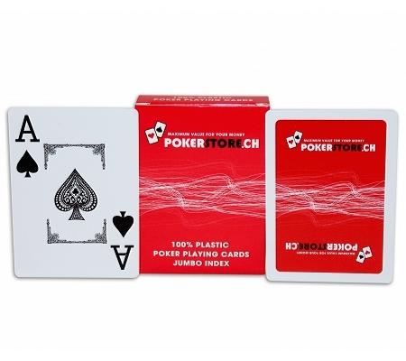 PokerStore Karten Rot