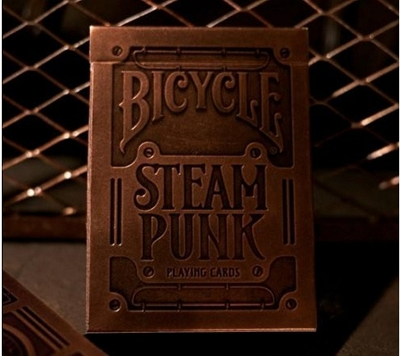 Theory11/Bicycle Steampunk Gold