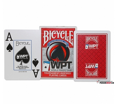 Bicycle World Poker Tour WPT Rot