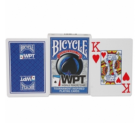 Bicycle World Poker Tour WPT Blau