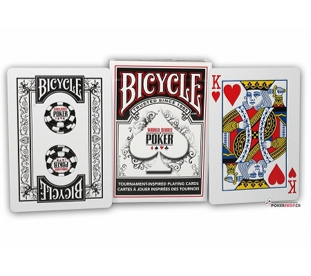 Bicycle World Series of Poker WSOP Schwarz