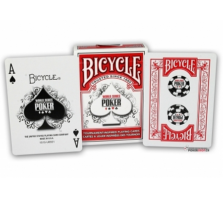 Bicycle World Series of Poker WSOP Rot