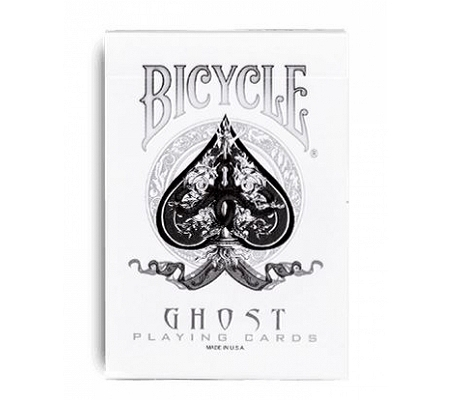 Bicycle/Ellusionist Ghost White