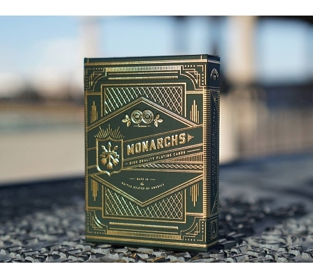 Theory11 Green Monarchs Deck