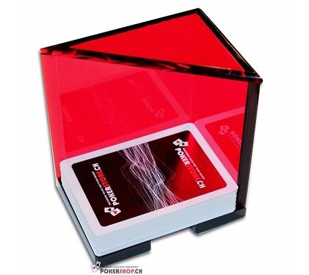 Discard Holder Rot für 5 Decks, Acryl