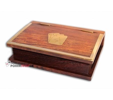 Holzbox für Jasskarten