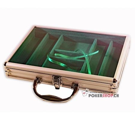 Aluminiumkoffer mit Plexiglas ..