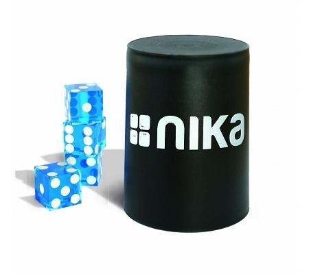 nika Dice Stacking Basic Set Blau