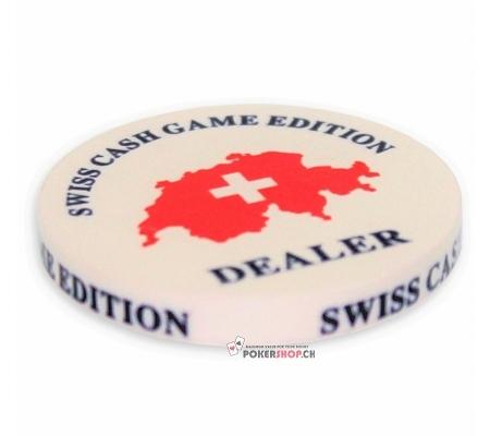 """Dealer Button """"Swiss Cash Game.."""