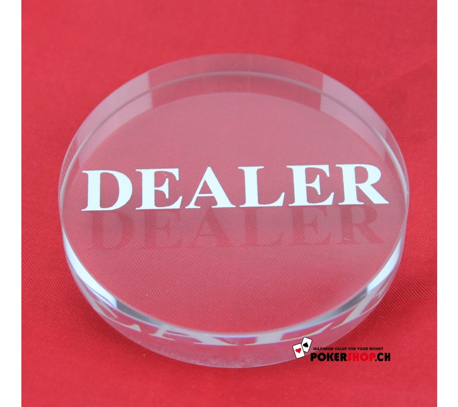 Dealer Button Cristal