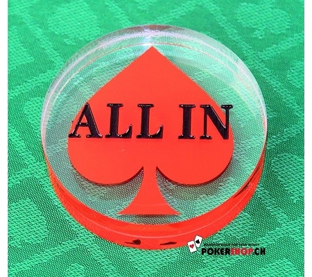 ALL IN Button Spade
