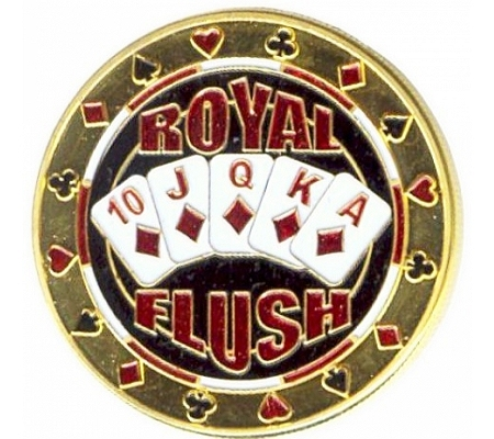 Card Protector Royal Flush