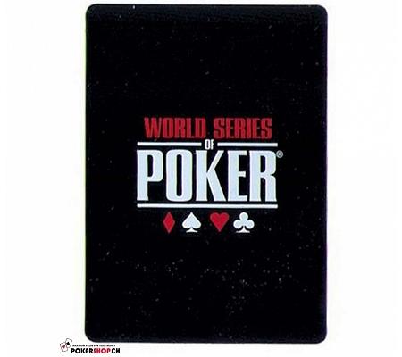 WSOP Cut Card Schwarz