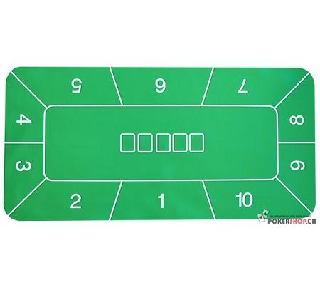 Rubber Tischauflage Grün mit P..