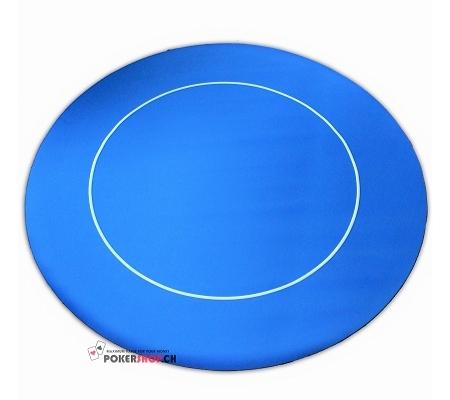 Tischauflage Rund Rubber Blau ..