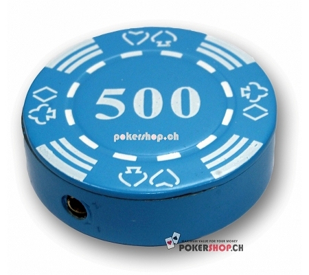 Pokerchip Feuerzeug 500
