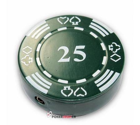 Pokerchip Feuerzeug 25