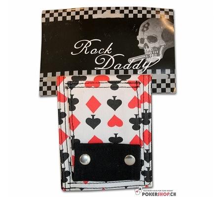 Brieftasche Stoff mit Kartenmu..