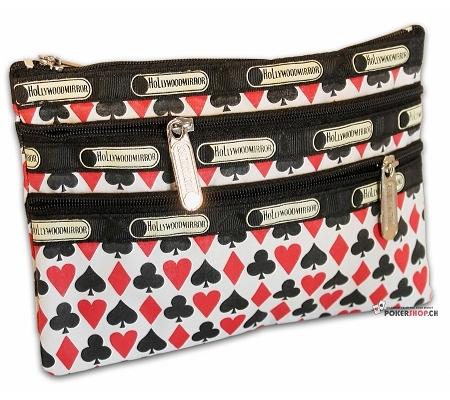 Schminkbeutel mit Seitentaschen