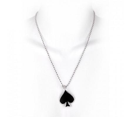 Halskette Pik