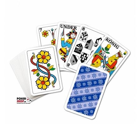 Edelweiss Mini Jasskarten, D-CH