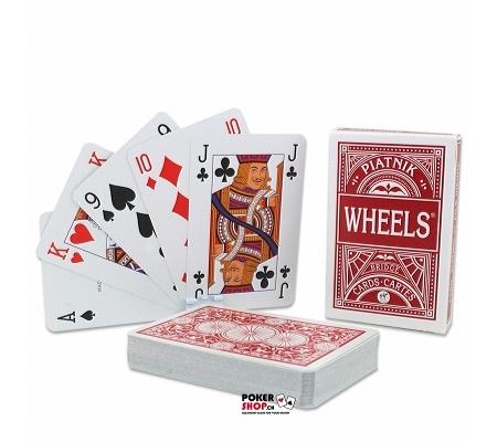 Piatnik Wheels Bridge Karten Rot