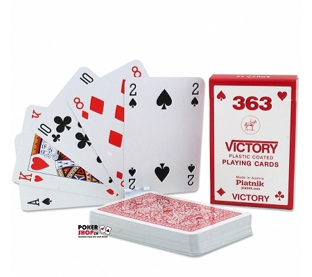 Piatnik Victory Bride Karten Rot