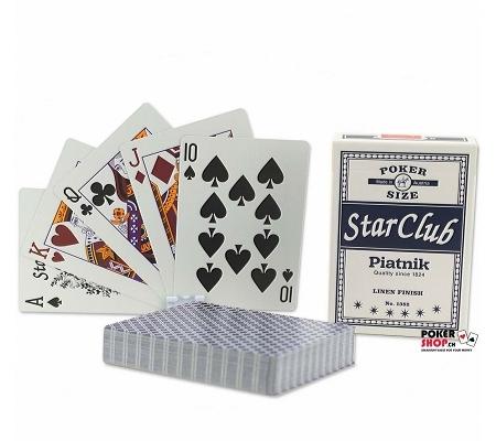 Piatnik Star Club Pokerkarten Blau