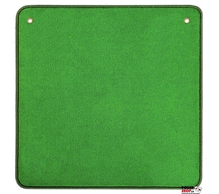 AGM Jasstepich Grün Uni mit Ösen
