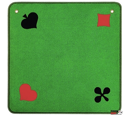 AGM Jasstepich Piquet Grün mit Ösen