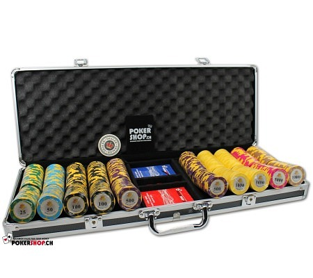 500er Set Poker Club Crown - P..