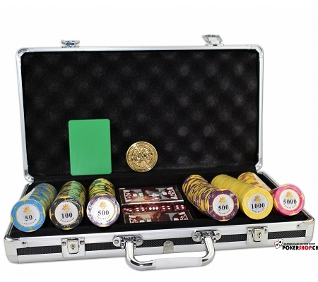 300er Set Poker Club Crown - P..
