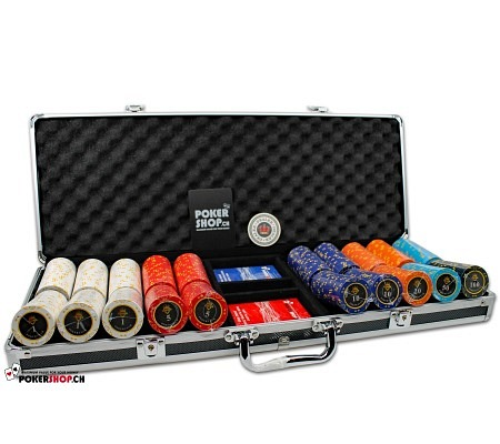 500er Set Poker Club Diamond -..
