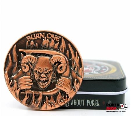 """""""Devil"""" Card Guard/Dealer Butt.."""