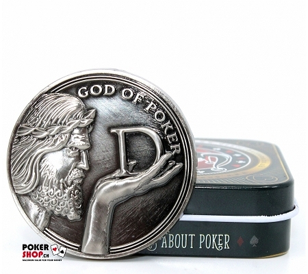 """God of Poker"" Card Guard/Deal.."