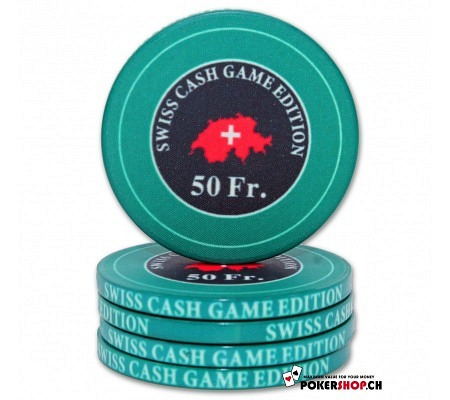 "50 Fr. ""Swiss Cash Game Edition"" Chip"