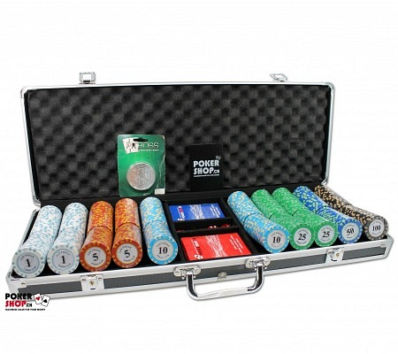 500er Set Las Vegas Poker Club - Premium Cash