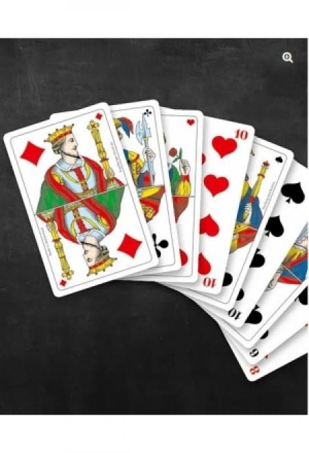 Card Shoe Black Jack für 6 Deck, schwarz