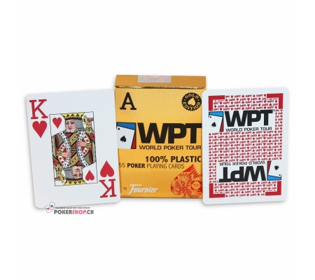 Fournier WPT Gold Edition Rot