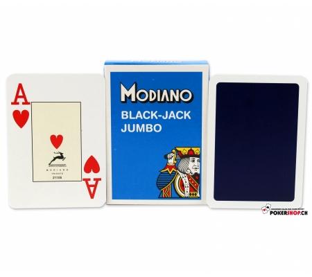 Modiano Black Jack Jumbo Blau