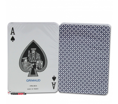 "Grimaud ""Card Casino"" Blau"