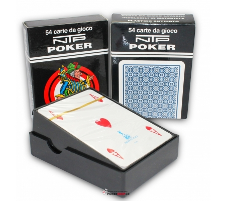 NTP Pokerkarten Blau