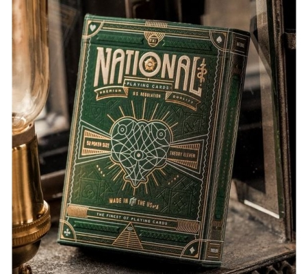 Theory11 Green National Deck
