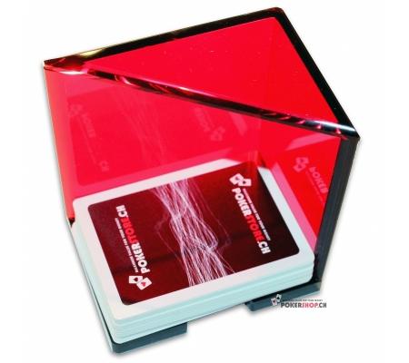 Discard Holder Rot für 6 Decks, Acryl