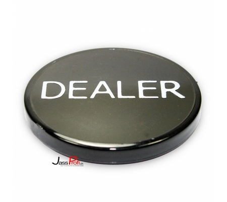 Dealer Button Schwarz