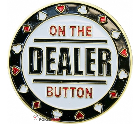 Card Protector / Dealer Button - On the Button